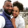 Demetria McKinney having fun in Vancouver and hanging out with her friend Krish Sidhu !