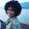 Demetria McKinney having a beautiful day with Krish Sidhu including a ferry ride to dinner... all smiles!