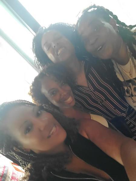 Demetria McKinney had a wonderful Weekend with Family, Torri Rucker, Monique and Yolanda - June 6-7, 2020