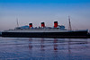 The Queen Mary, early in the morning