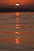 Sunrise over Long Beach Harbor