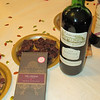 The Cru Virunga was paired with a 2009 Chateau de Brandey bordeaux.  It was a very nice bordeaux.
