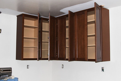 It will be difficult to decide which cabinet to store all the liquor in.