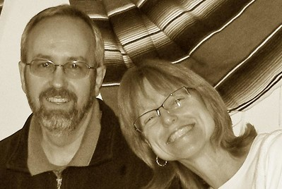 Laura y su esposo, Jeff