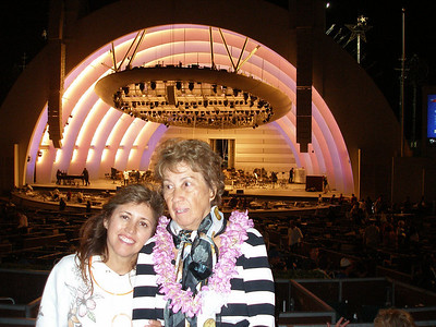 Me & Mom at The Bowl