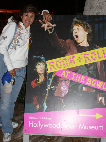 """They got Rock and Roll at The Hollywood Bowl"""