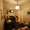 Loungeroom - bit of a mess unpacking