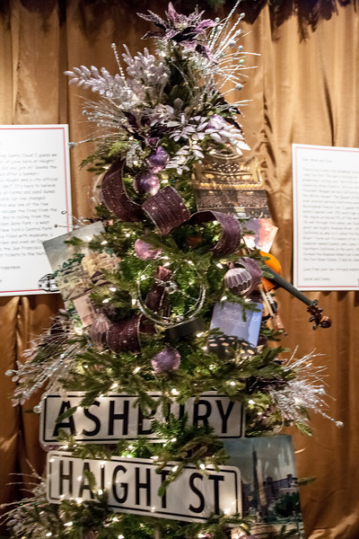 Ashbury Haights Christmas tree.