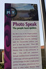 """Photo Speak"" This banner tells the story of this 1.2 mile outdoor photo exhibit. Residents of Mission Viejo were asked to submit photos under the title ""My Mission Viejo"". 1,000's of photos were sumitted. These 500 shots were the ones selected to show what makes Mission Viejo unique and to help celebrate the city's 20th Anniversary. I'm honored that 7 of my photos have been included! Welcome to ""My Mission Viejo""."