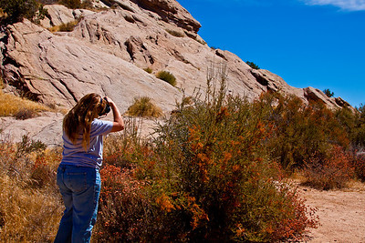 Tammy shoots Vasquez Rocks. Rock on Tammy!