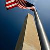 The Washington Monument.
