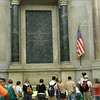 Viewing the Declaration of Independence.
