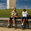 Neal & Keith at The Washington Monument.