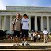 Neal & Keith at The Lincoln Memorial.