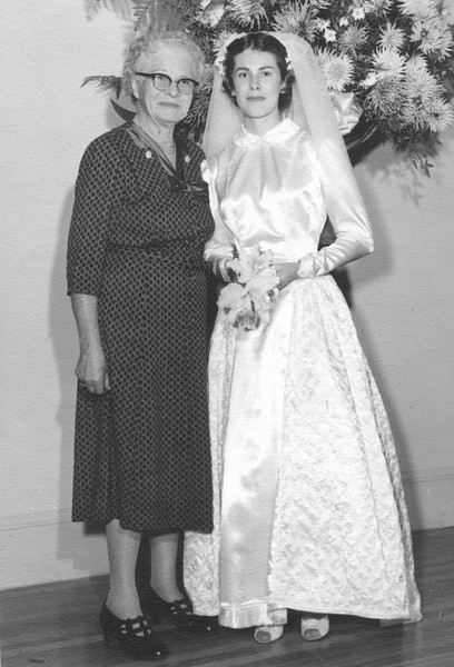 Grandma Ann Sophia Boyce Baker 1956