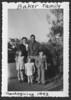 141 Martha Baker, Hayward Baker, Ann Baker, Lynn Baker, Wally Baker, Thanksgiving 1943