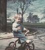 1975 5 mike on bike