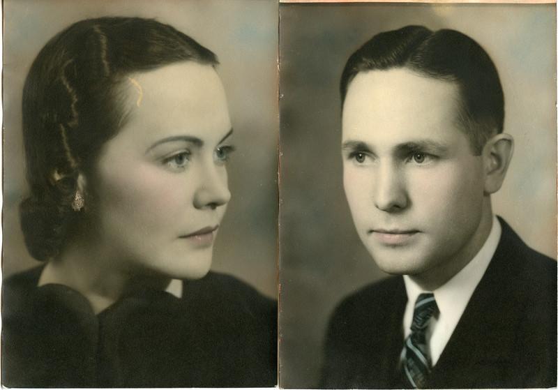 Veda Mae Rawlins and Loran Parley Summers