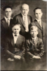 back row left to right clarence william summers, richard william summers, father of loran, franklin lavaughn summers, front row left to right, loran parley summers, maurice summers