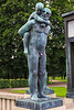 Sculptures in Vigeland Park, Oslo.