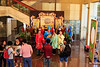 The lobby area of Jinjiang Theatre where we enjoyed Sichuan style opera.