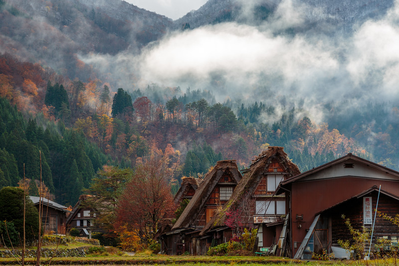 Autumn Colours in Ogimachi