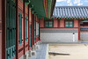 Inner courtyard of side  compound of Gyeongbokgung Palace