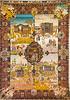 Four Seasons carpet made in Tabriz, 20th century