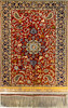 Beautiful carpets from the 17th century to the present on display in the Carpet Museum of Iran, Tehran