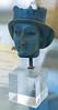 Lapis lazuli head of a statue, Persepolis, Fars, ca. 552-330 BCE