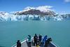 Approaching Glaciar O'Higgins