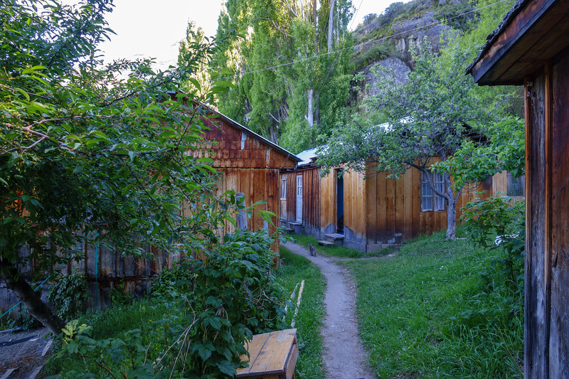 The farmhouse we stayed in at Candelario Mancilla