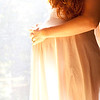 Glowing pregnancy. Beautiful pregnant belly shows the romance and blessing of a coming child.