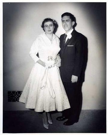 OUR WEDDING NOV1 1959