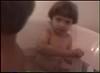 Jamison in Bathtub Kids eating