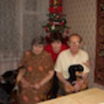 Our Russian Coiusins Evsei Bukher,85 and wife Nastia