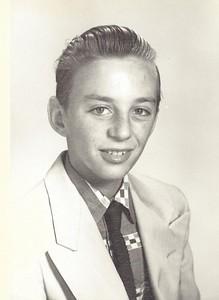 Bruz, 1955, Age 14