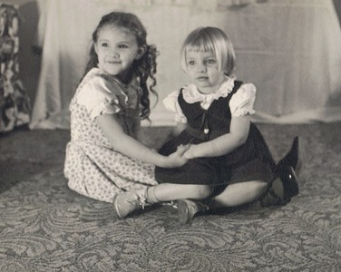 Cousin Sherry Norton with Erna