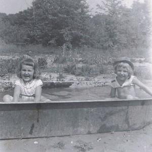 Sandy Murphy and Erna