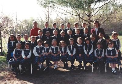 Zach Kindergarten Class Photo