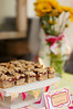Old World Raspberry Bars are probably my favorite cookie ever!  I didn't eat cake at the party, but I did have a few of these!