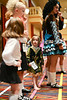 Niamh all signed in and waiting in line for her Future First Feiser competition.  She ADORED it.