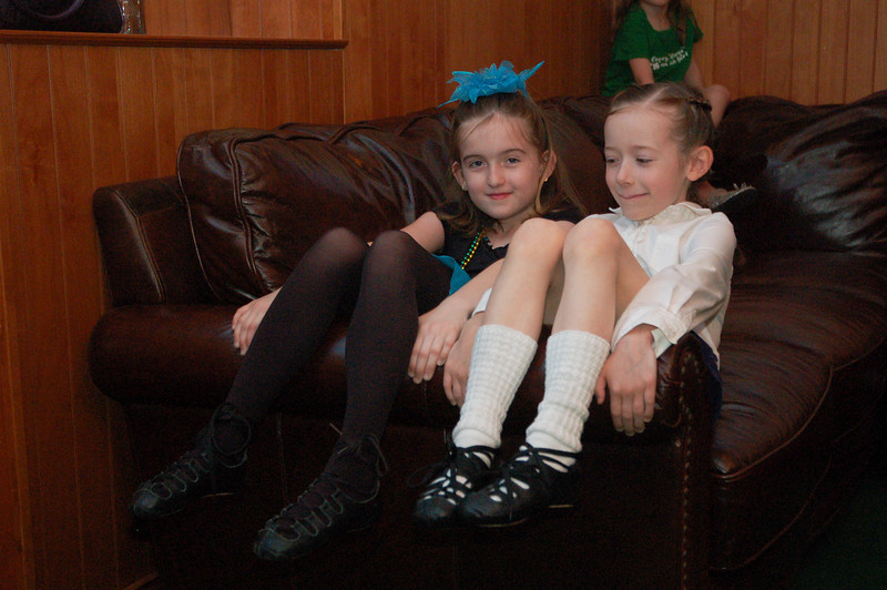Ainsley and Audrey at the Gilbert St. Patrick's day performances.  They had so much fun!