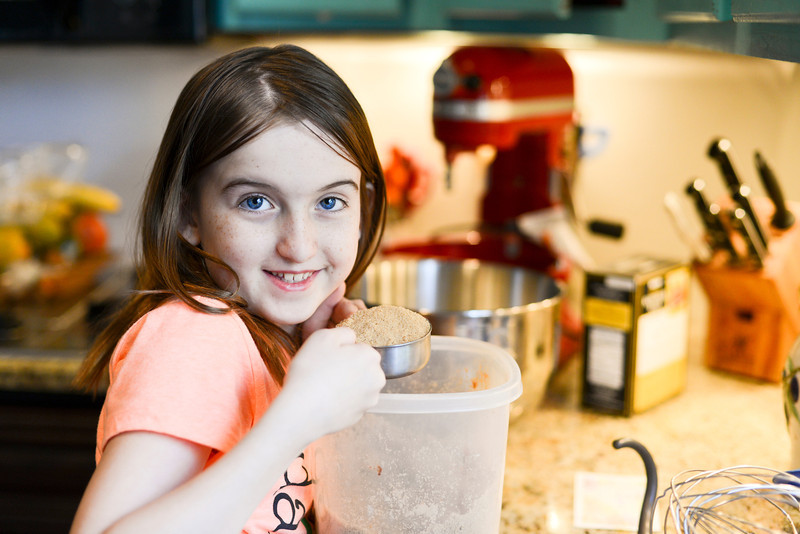 Ainsley's 3rd grade science fair project:  Which Baking Fat makes the Fluffiest Sugar Cookies?
