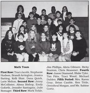 26 - Traci - 8th Grade Math Team