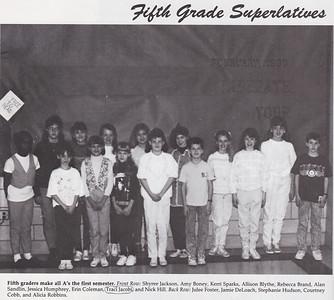 17 - Traci - 5th Grade Honor Roll