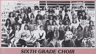 22 - Traci - 6th Grade Choir