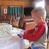 Colton Opening gifts