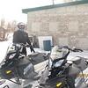 Snomobiling at Bear Lake