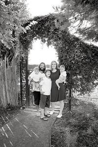 April Cavness Family Portrait_BW-112